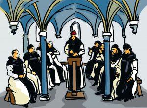 Fundación de un monasterio