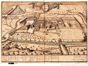 Los dominios del Monasterio Abadía de Citeax en 1689