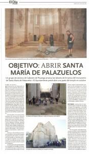 El Monasterio de Palazuelos en el Día de Valladolid
